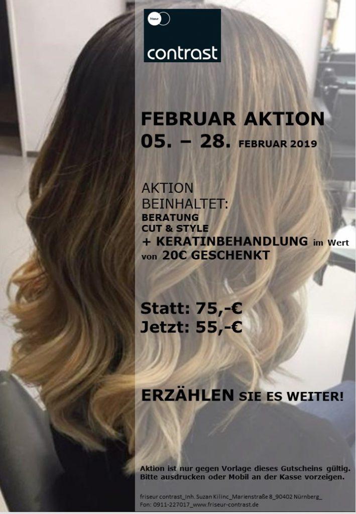 Aktion Februar 2019 Keratinpflege